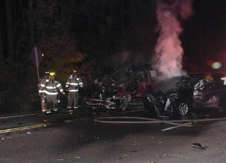 Two killed in fiery crash on Hwy 16