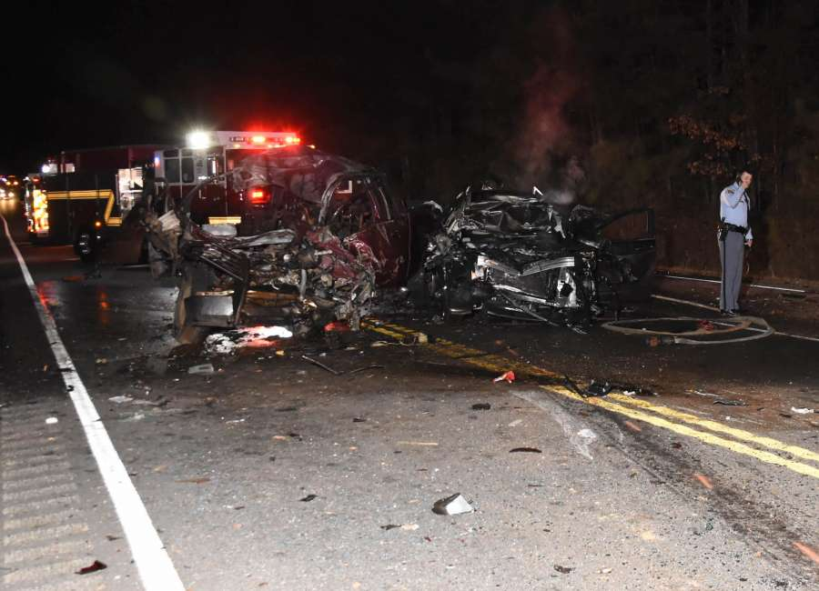Two killed in fiery crash on Hwy 16 - The Newnan Times-Herald