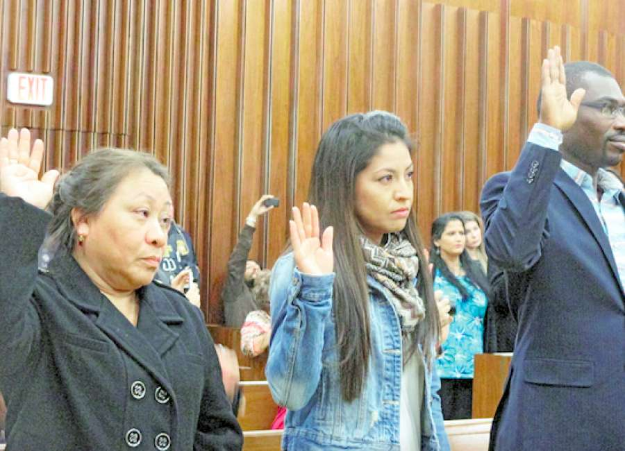 ​Naturalization ceremony yields 46 new Americans