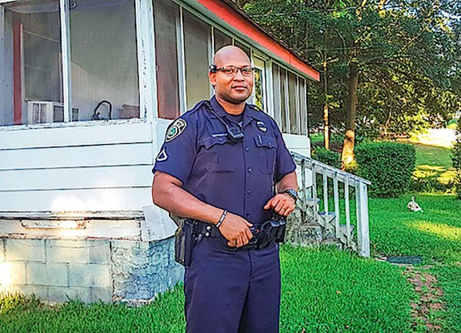 A black cop sees community from both sides