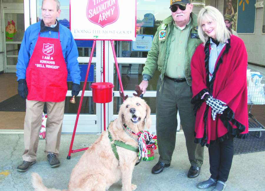 Bells ringing for Salvation Army