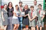 ​Boy Scout recognized for leadership project