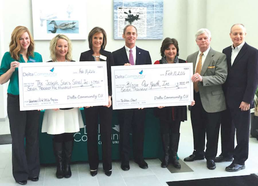 ​Delta Community Credit Union donates to GA foster children