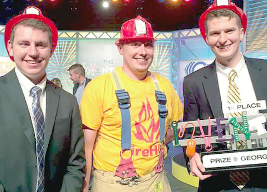 Fire HUD takes first place at Ga. Tech Inventure Prize