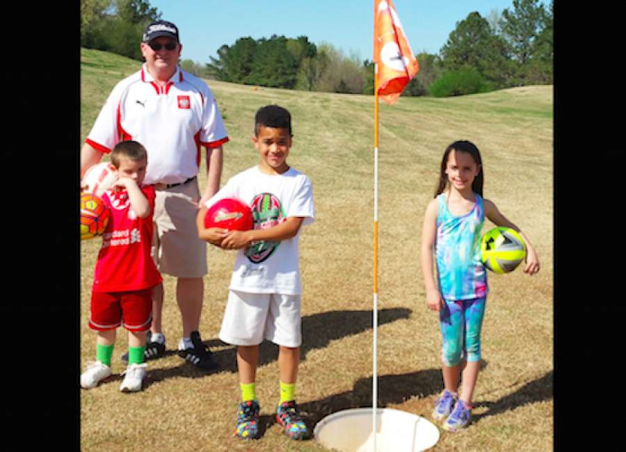footgolf blends two of the world s most popular sports