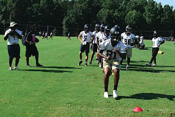 High schools officially begin football practices in Coweta County