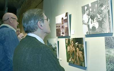 Hogansville veterans art exhibit is success
