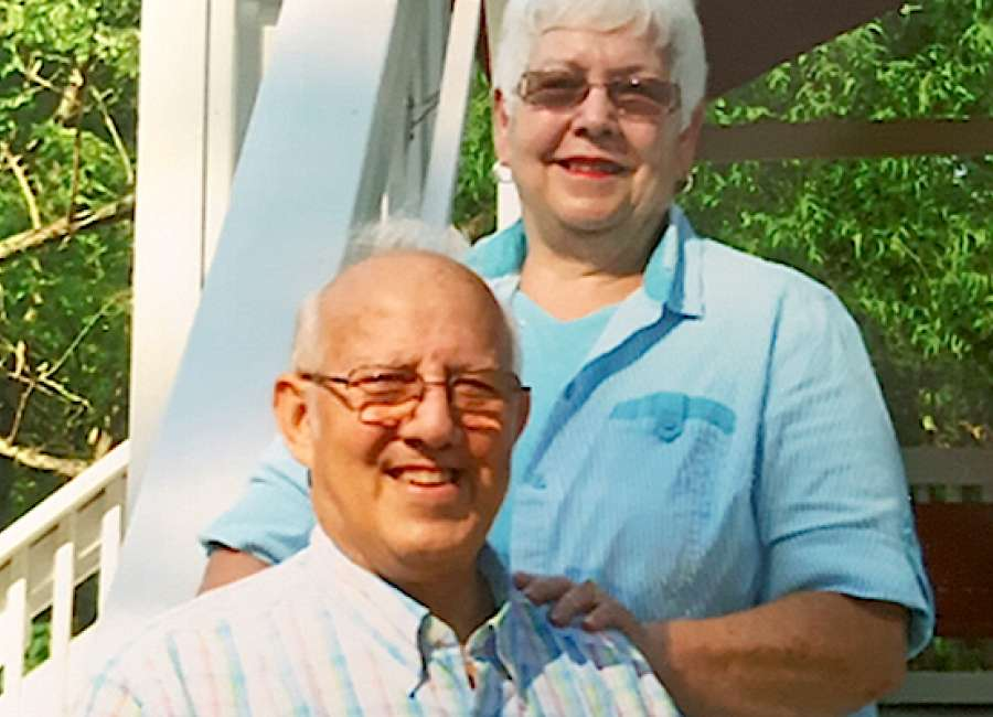 Joseph and Sheila Hayes celebrate 50th