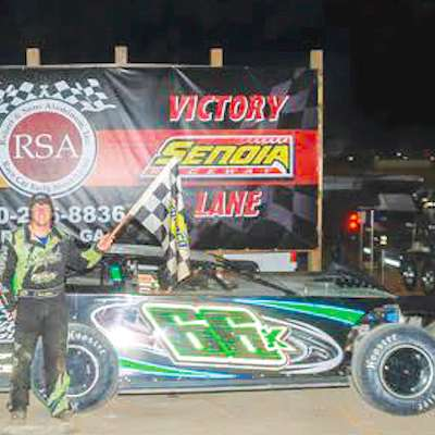 Knowles takes emotional checkered flag at Senoia Raceway