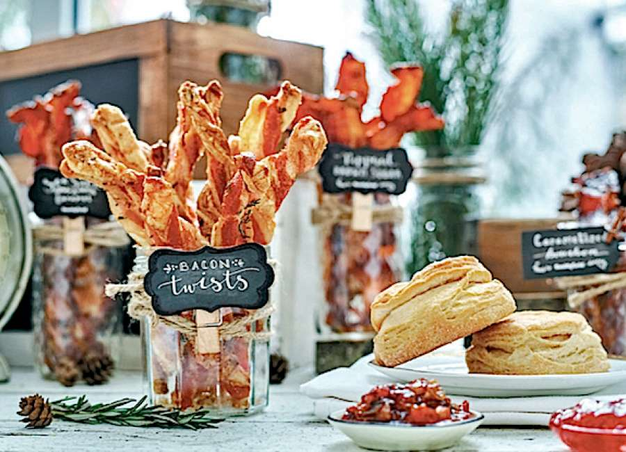 Make holidays better with bacon