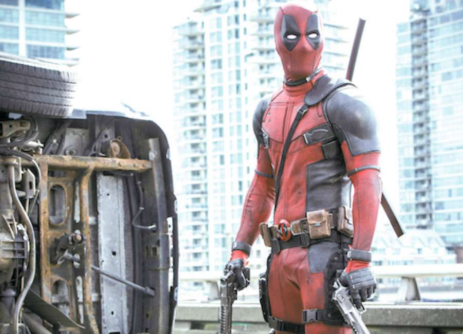 Not for the kids 39 deadpool 39 pokes fun at marvel universe for What are the showtimes for deadpool