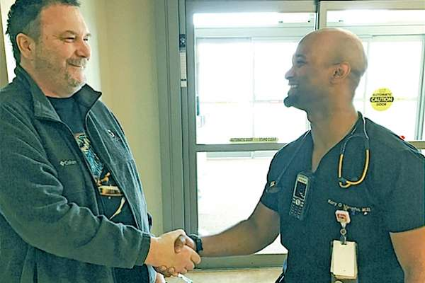 Piedmont ER doc discovers undiagnosed tumor, saves life