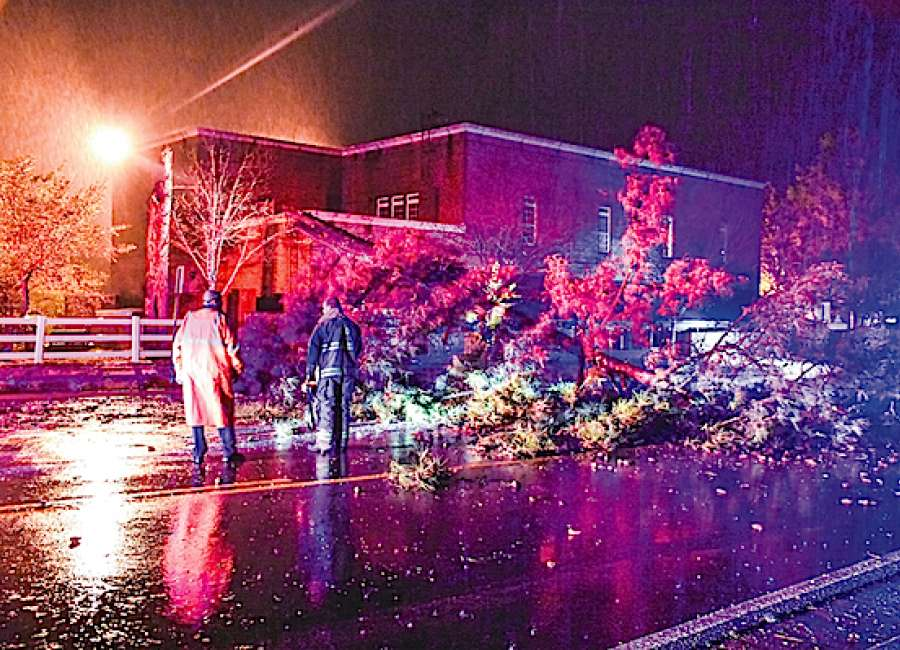 Strong wind, storms knock out power - The Newnan Times-Herald
