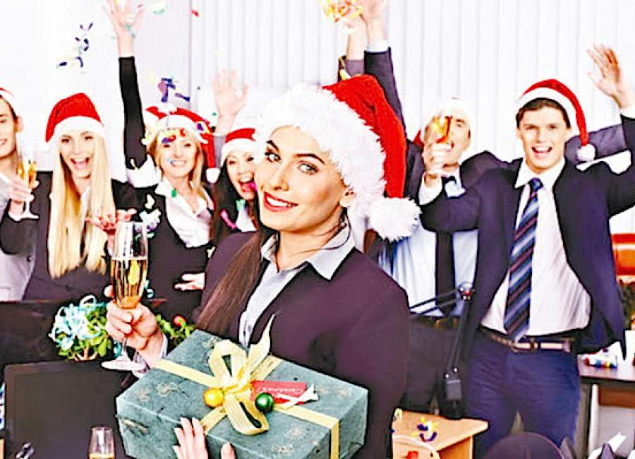 Survey reveals most unusual Christmas gifts at the office