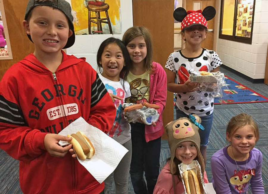 Thomas Crossroads students participate in STEM lab