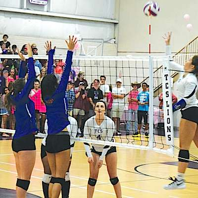 Trinity gets tough sweep over Heritage