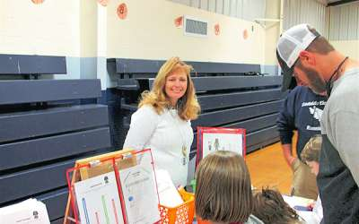 White Oak holds Star Warriors Math Night