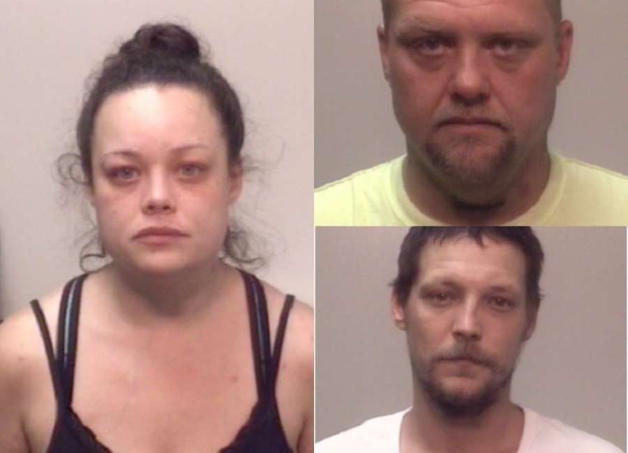 3 arrested with ties to alleged drug house