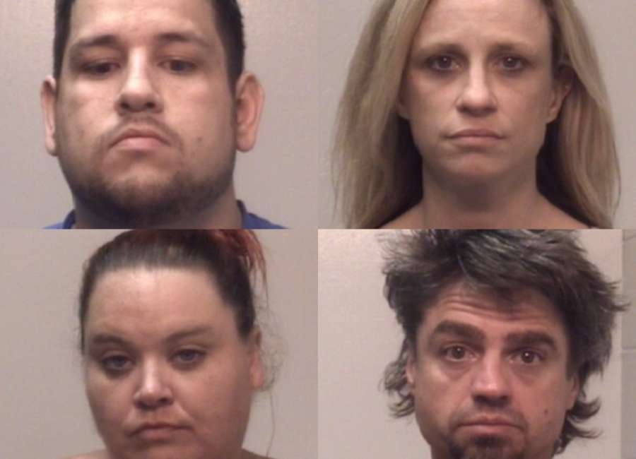 Alleged squatters arrested on drugs, burglary charges