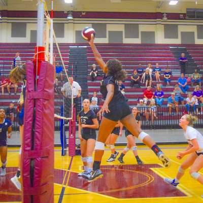 Area volleyball teams sweep in region play