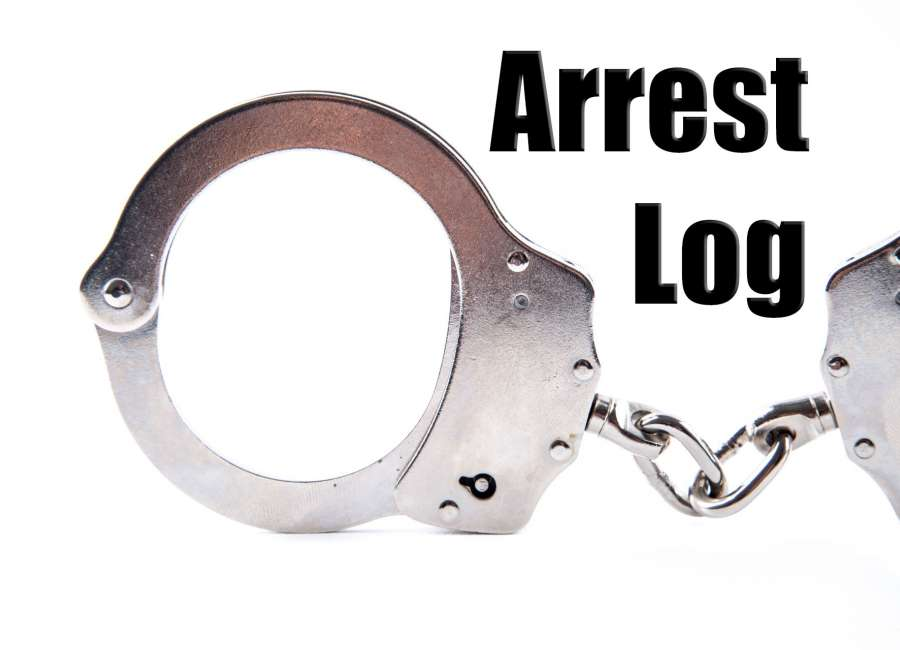 Arrest Log: Aug. 30 – Sept. 5