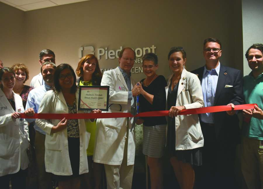 Breast Health Center opens at Piedmont Newnan