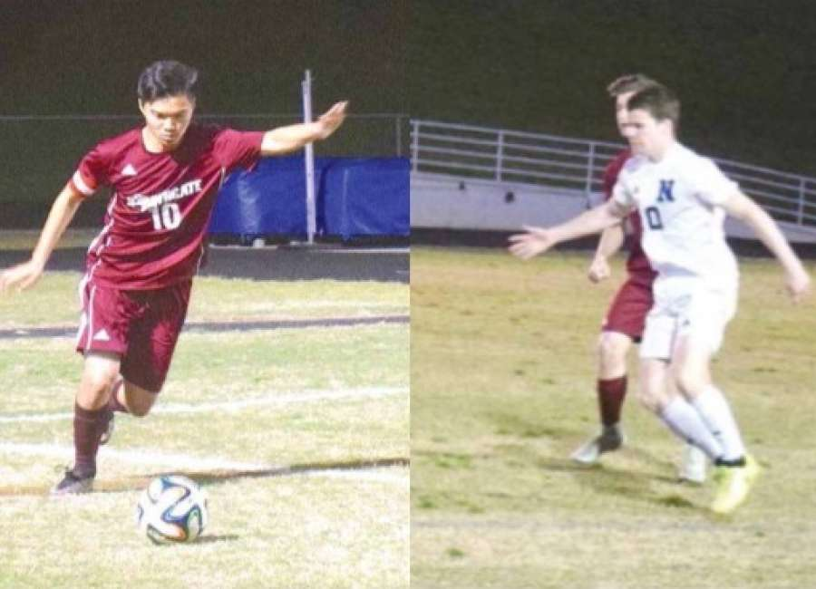Cheng, Crow receive top soccer honors