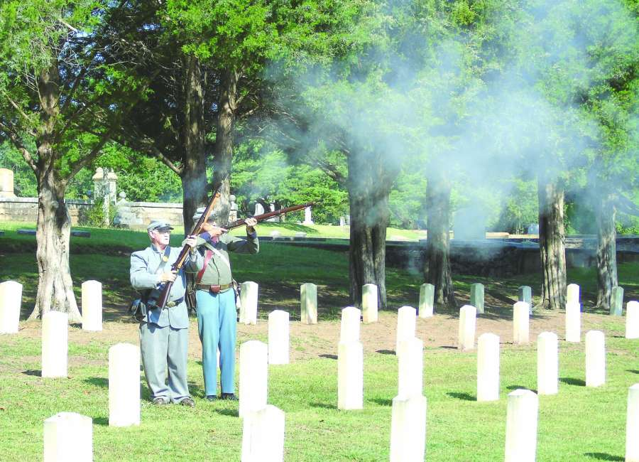 ​  Confederate hero Overby remembered at ceremony