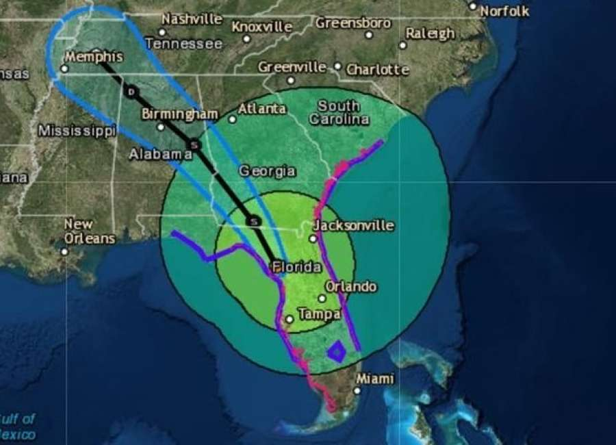 Naples, Florida gets direct hit from Hurricane Irma