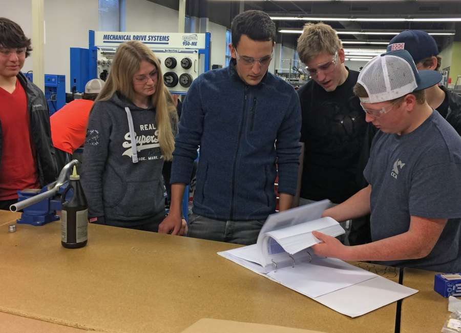 Coweta program visited by apprentices from Germany