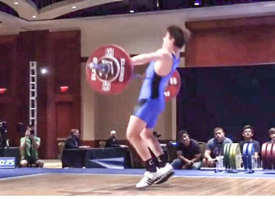 Dean Goad headed to Peru for weightlifting event