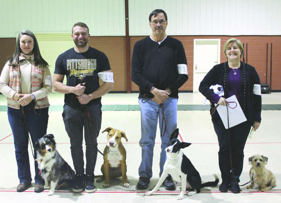 Dog obedience graduation held
