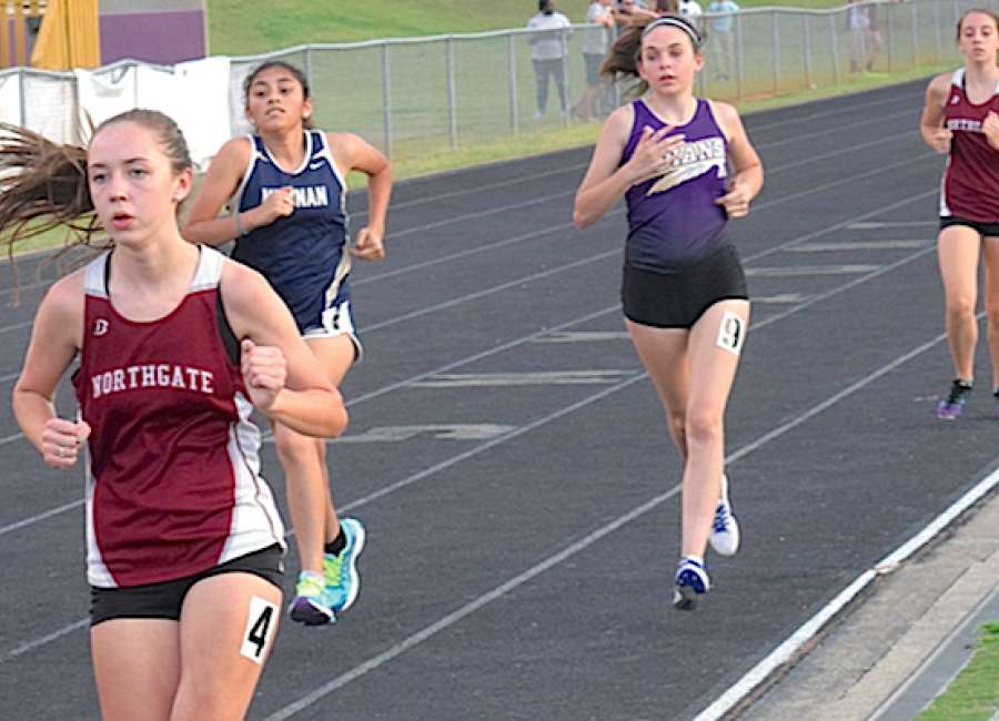 East Coweta has strong showing at county track meet