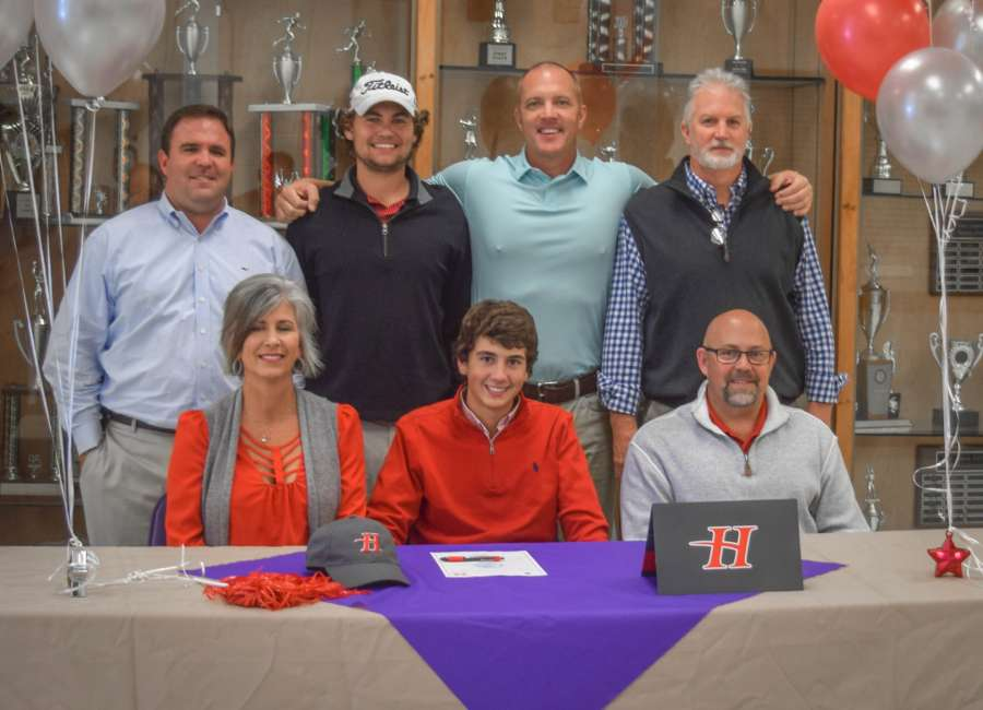 East Coweta's Carson Whitton signs golf scholarship to Huntingdon University in Montgomery