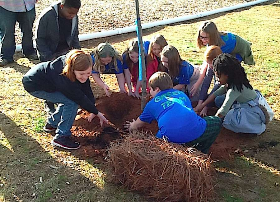 Eastside third-graders study human impact on environment