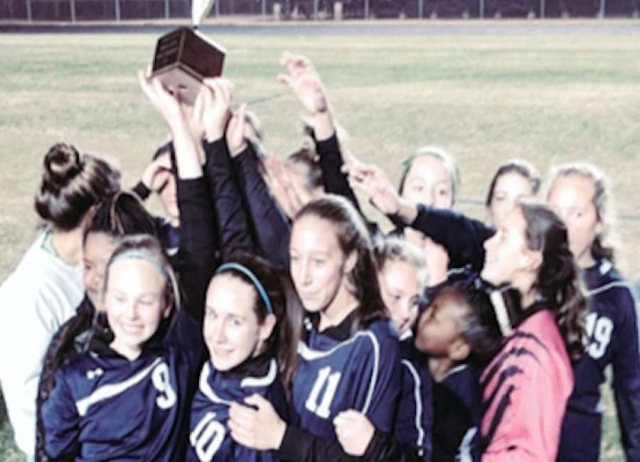 Evans Middle School beats Lee Middle for second straight girls soccer title