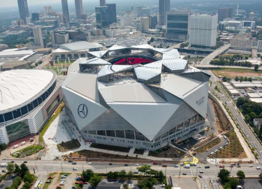 Falcons exec to recount stadium construction