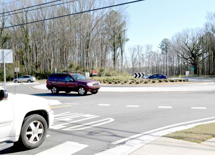 'Five Points' roundabout project earns national recognition