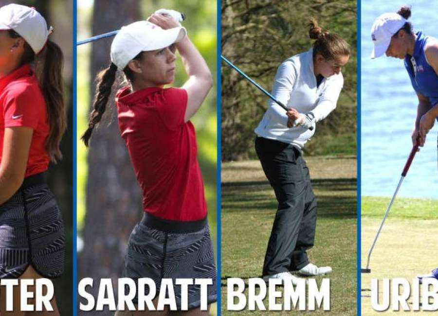 Four UWG golfers named All-American Scholars
