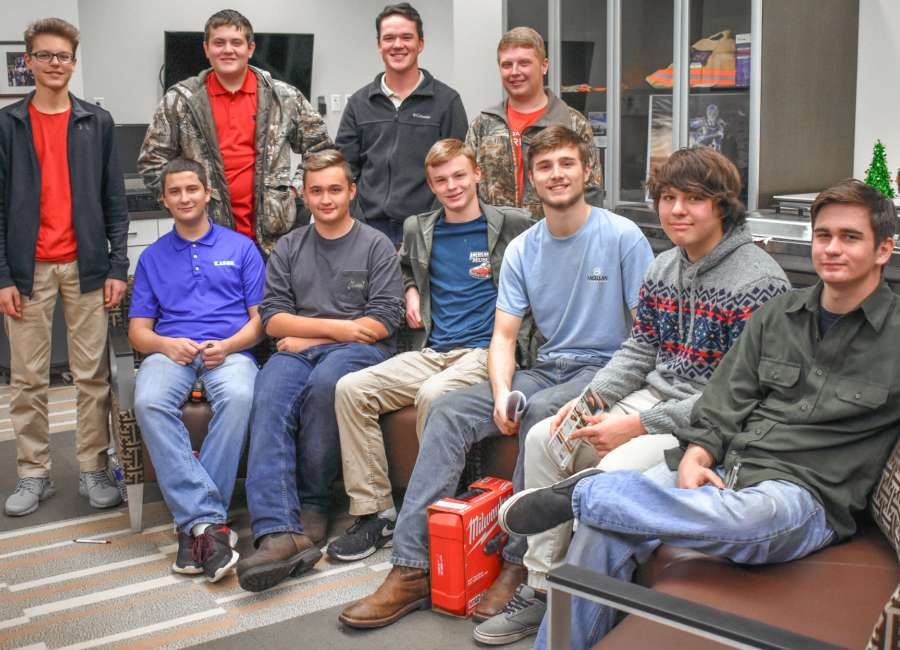 German-style party thrown for apprentices in local program