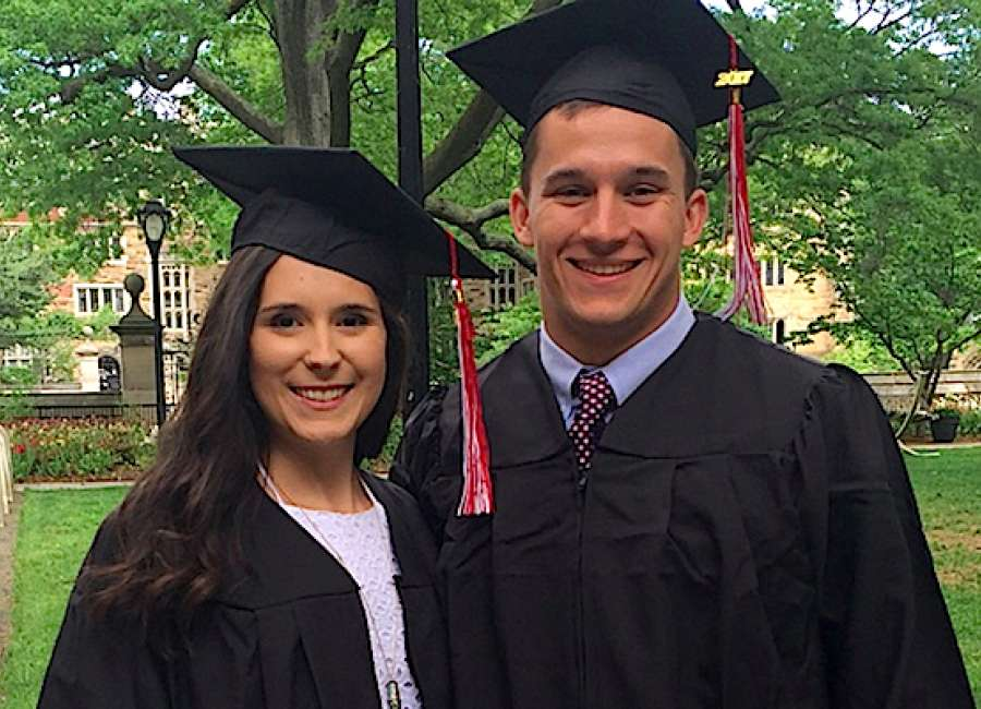 Heritage School classmates graduate from Yale together