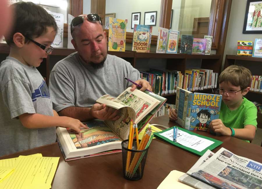 Kids celebrate summer reading