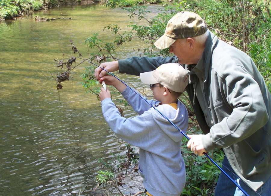 Kids let s go fishing the newnan times herald for Kids fishing net