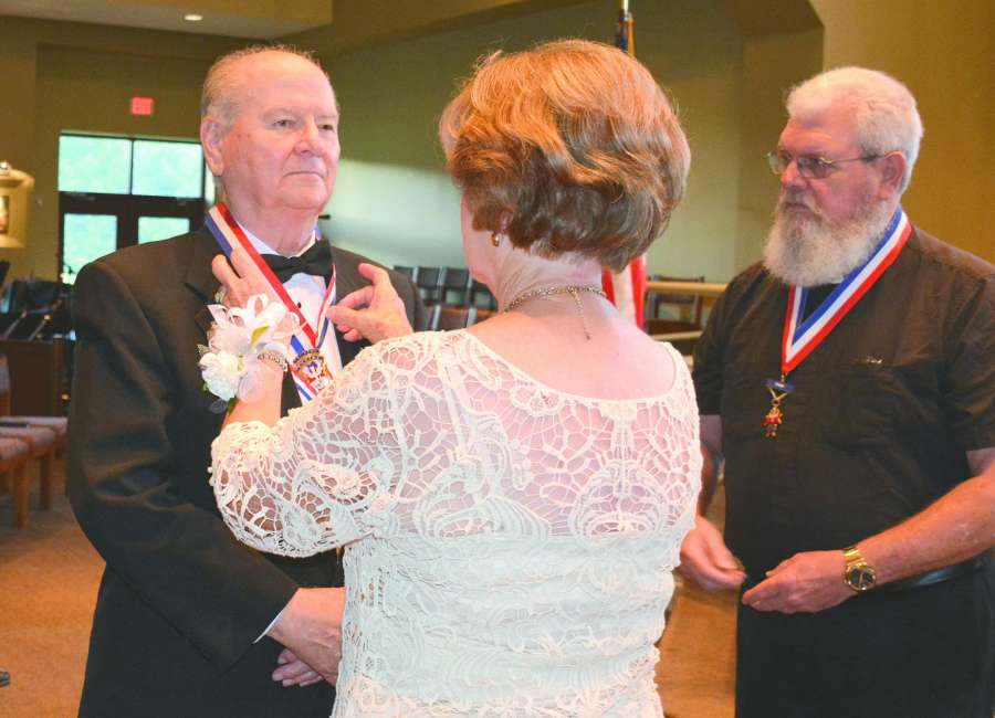 Knights of Columbus install officers at St. Mary Magdalene