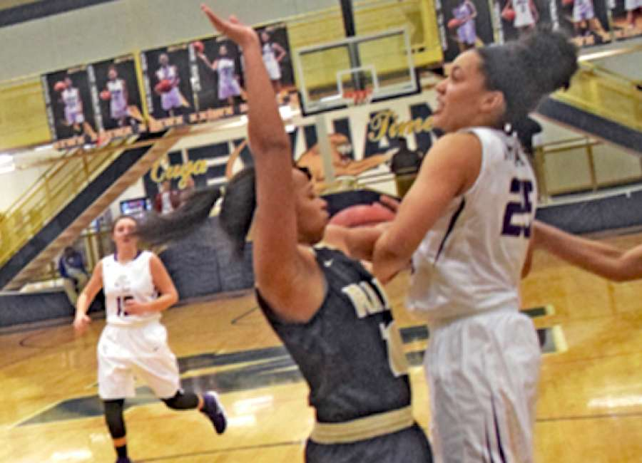 Lady Indians' comeback falls short