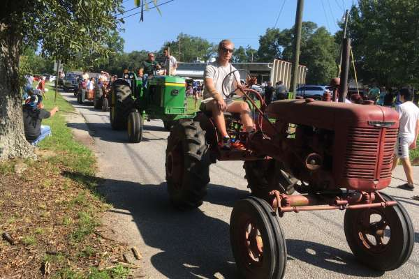 Large turnout for tractor fest