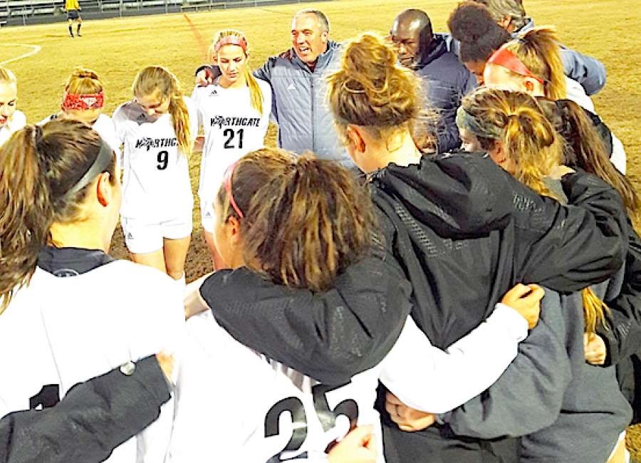 Late goal gives Lady Vikings big win