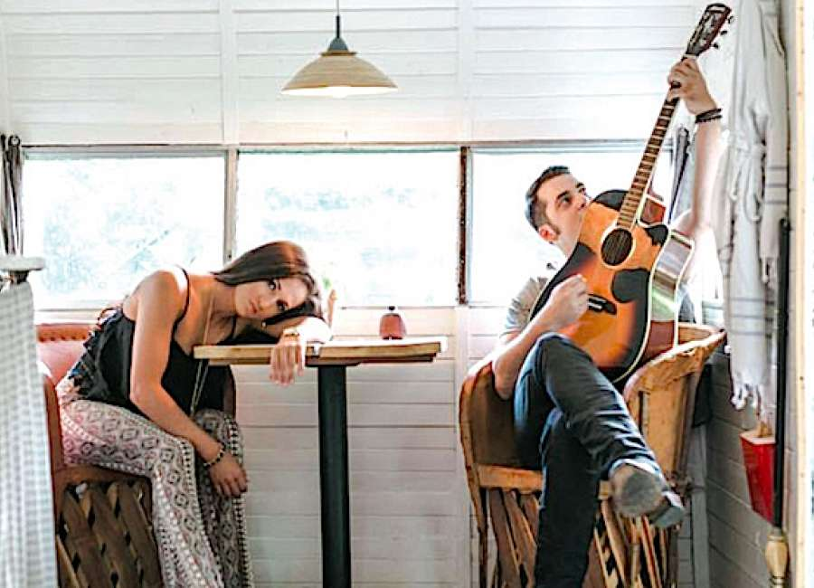 Local country music duo releases music video