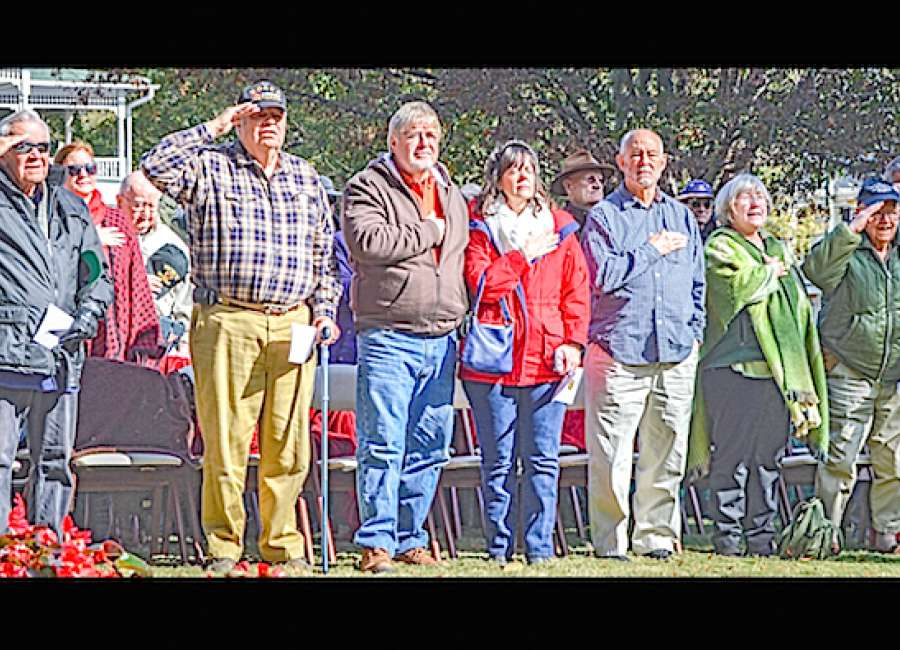 Local veterans honored in annual ceremony