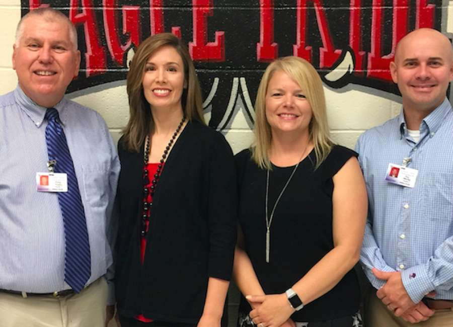 Madras teachers chosen Middle School Team of the Year
